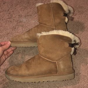 Mini Baily Bow UGG boots
